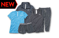 under armour women's workout clothing