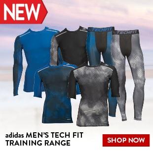 adidas MEN'S TECH FIT TRAINING RANGE