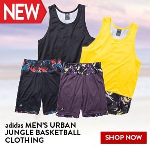 adidas MEN'S URBAN JUNGLE BASKETBALL CLOTHING