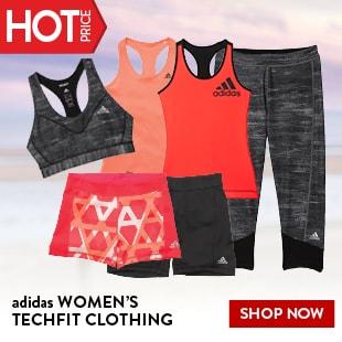 adidas WOMEN'S TECHFIT CLOTHING
