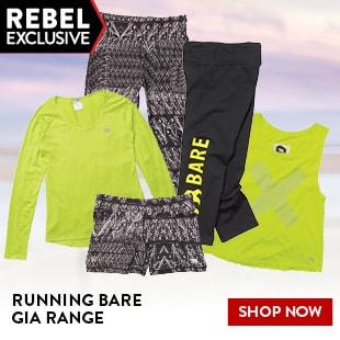 RUNNING BARE GIA RANGE