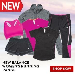 NEW BALANCE WOMEN'S RUNNING RANGE
