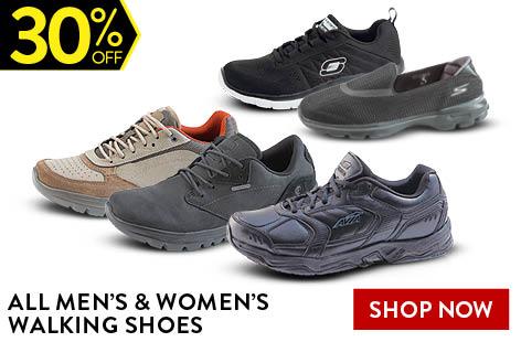 ALL MEN'S & WOMEN'S WALKING SHOES