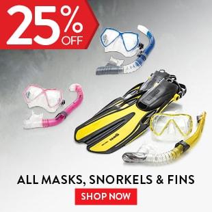 All Masks, Snorkels & Fins