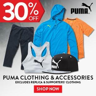 Puma Clothing & Accessories