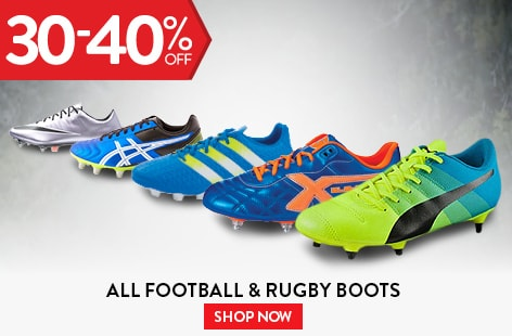 All Football & Rugby Boots