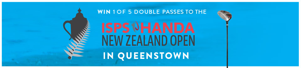 Win 1 of 5 Double Passes to the New Zealand Open