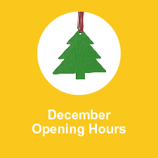 December Store Hours