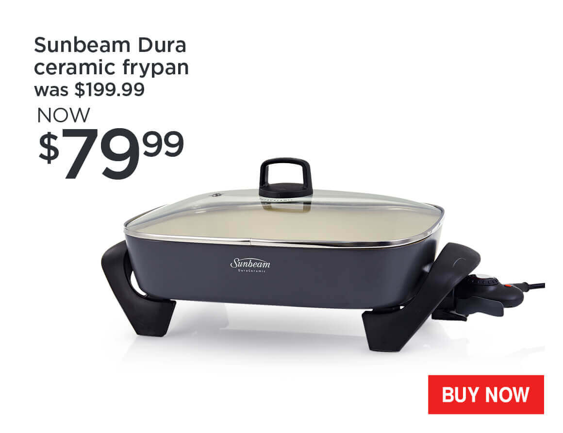 Sunbeam-Dura-Ceramic-Frypan