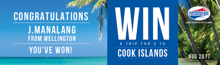 Win a trip for 2 to Cook Islands