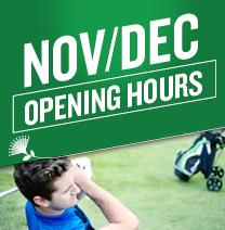November December Store Hours
